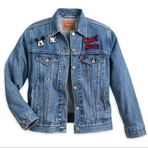 Levi's Mickey Mouse Denim Jacket for Women
